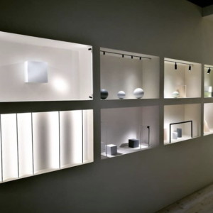 Plum lighting, home lighting solutions, shelving lighting, minimalistic home designs