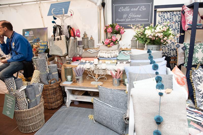 soft furnishings display, home and garden show, house and garden show, henley house and garden show 2019, Niki scahfer interior design Oxfordshire, nikki schafer, nicky schafer,